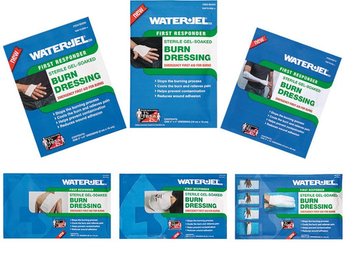 Water Jel Burn Dressings - Various Sizes