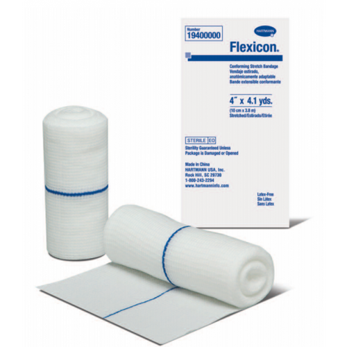 Flexicon ''Clean-Wrap'' Roller Gauze - 20 Rolls per Box - All Sizes