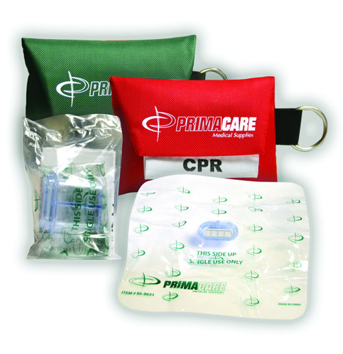 CPR Mask in Pouch with Key-Ring