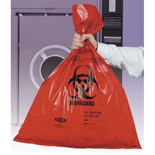 14 Gallon Bio-Hazard Waste Bags - 50/Pack