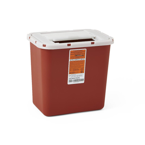 2 Gallon Sharps Container with Sliding Lid
