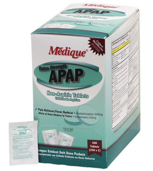 APAP Extra-Strength (Generic Tylenol Extra-Strength) Tablets - Unit Dose