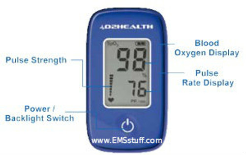 DB-12 Fingertip Pulse Oximeter