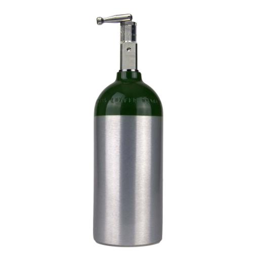 Portable Aluminum 'C' Size Oxygen Tank