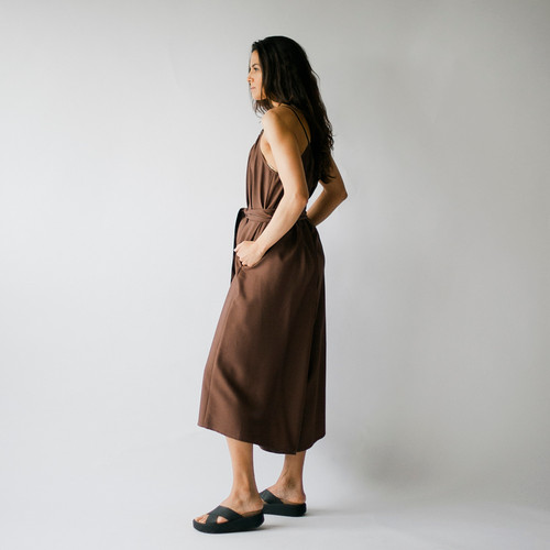 Rust Colvin Dress