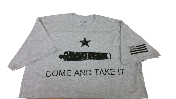 WieBad Come And Take It  Logo Shirt (Heather Grey)