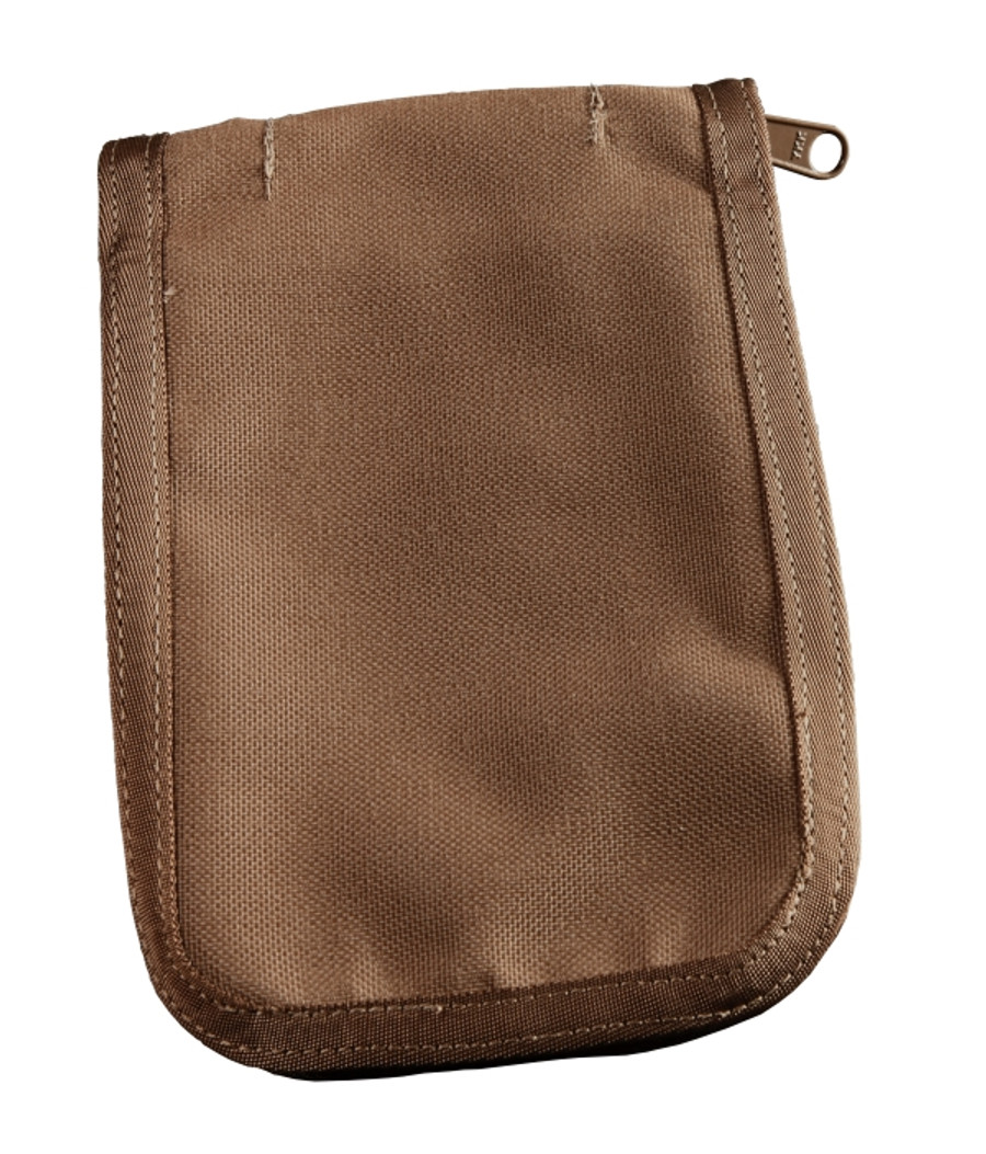 4 in x 6 in Cover Tan CORDURA® fabric 5 1/4 in x 7 1/2 in