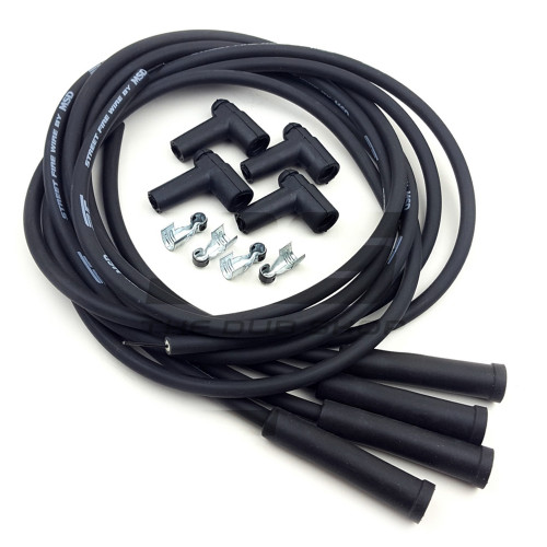 Universal 8mm Spark Plug Wires with HEI Coil Terminals