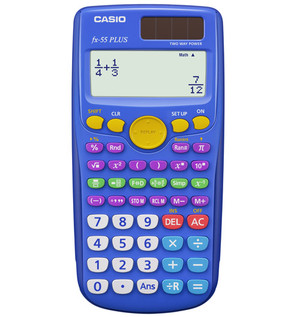 Casio FX 55 Plus Fraction Calculator