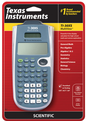 TI-30XS Multi-View Single GED Approved