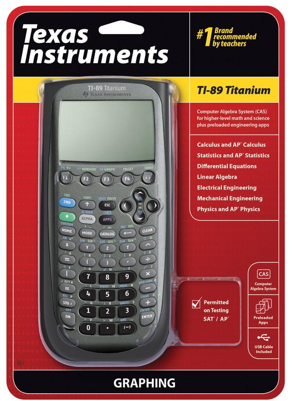 TI-89 Titanium Calculator Single