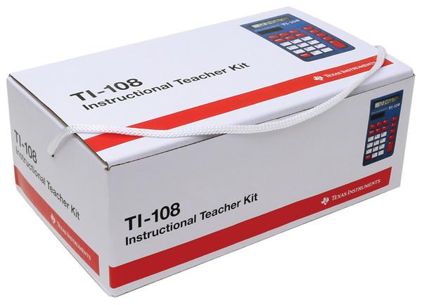 TI-108  4-Function Calculator Teacher Kit