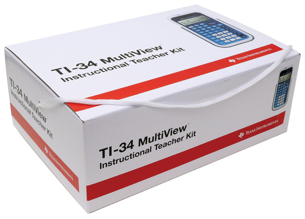 TI-34 Multi-View EZ Spot Yellow Teacher Kit