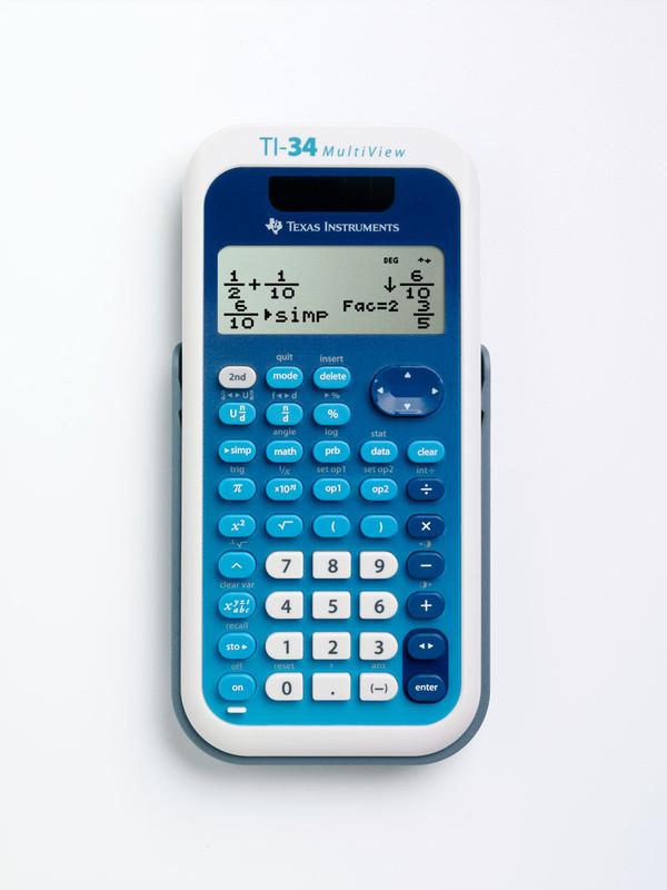 TI-34 MultiView Retail Single