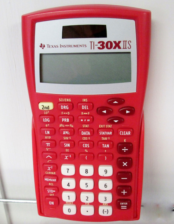 TI-30XIIS Red Class Pack of 30 with Storage Caddies