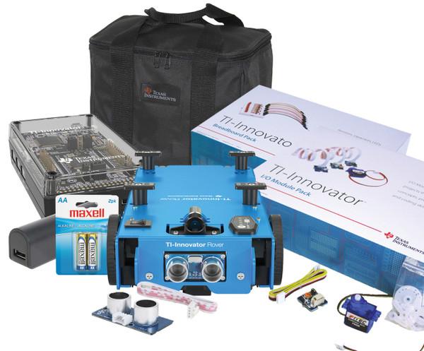 TI-Innovator™ Hub with TI LaunchPad™ Board & TI-Innovator™ Rover Bundle