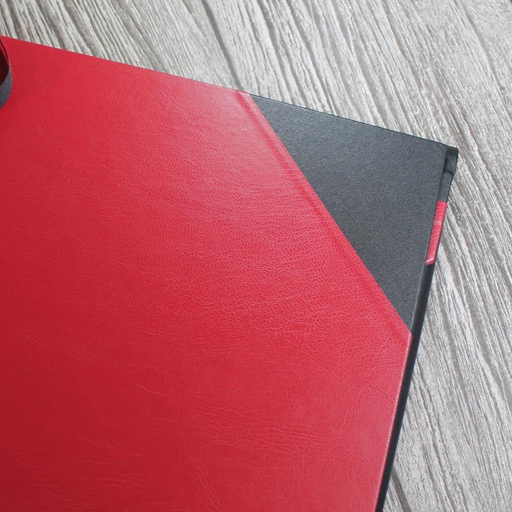 A2 Red & Black Art Portfolio / Cachet Portfolio
