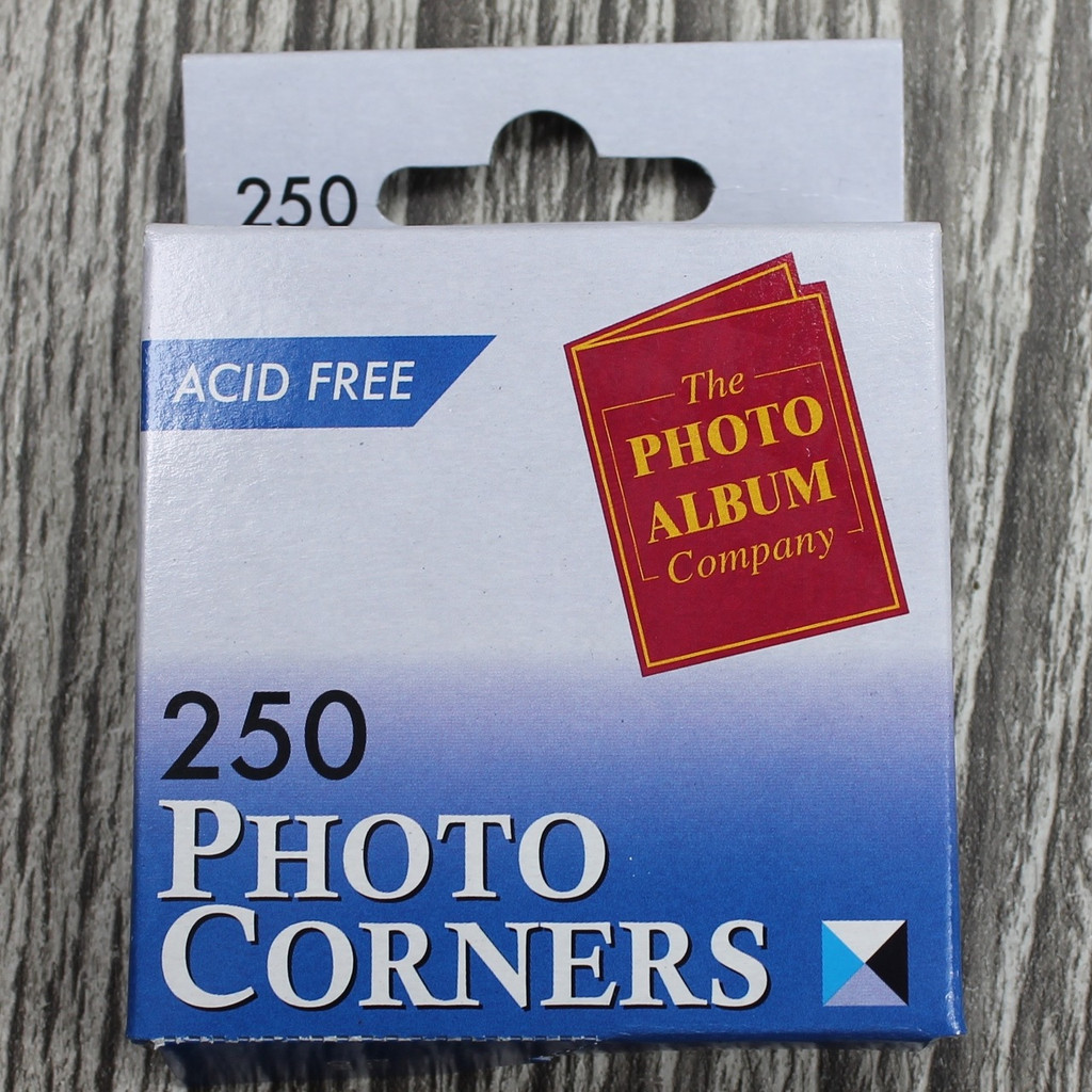 250 Adhesive Photo Corners
