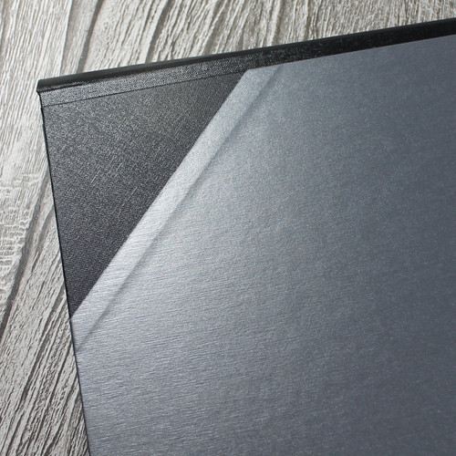 A2 Brushed Steel & Black Art Portfolio / Cachet Portfolio