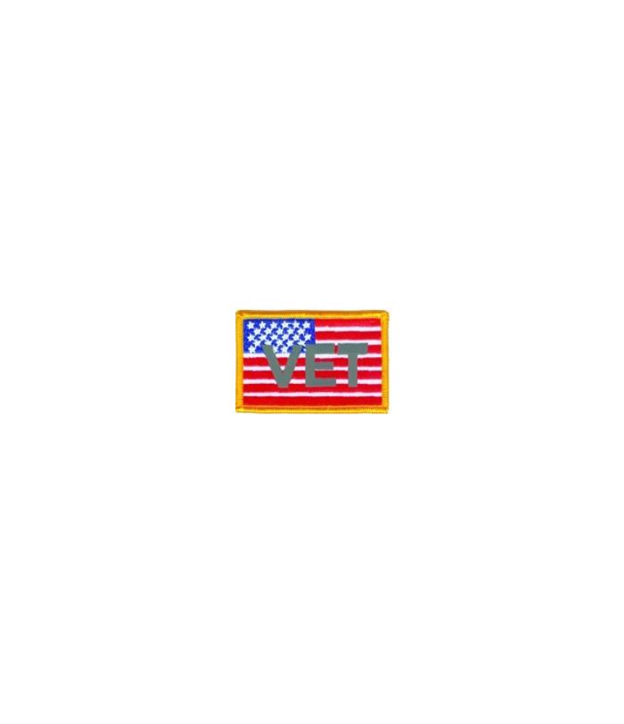536 Vet American Flag Patch