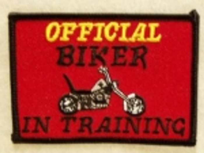 Official Biker in Training Patch