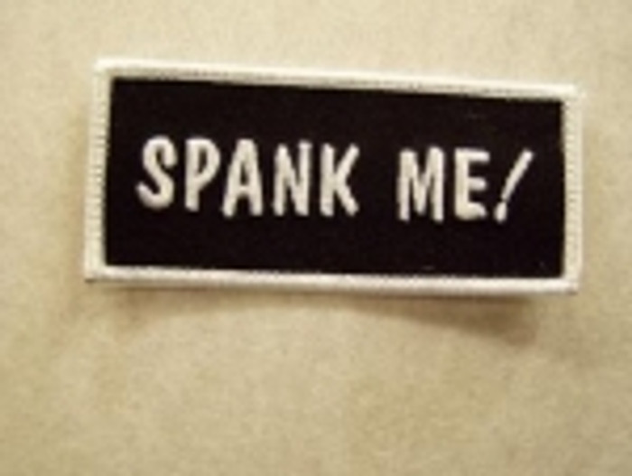 Spank Me Patch