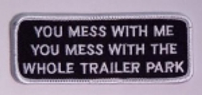 Mess With Me Patch