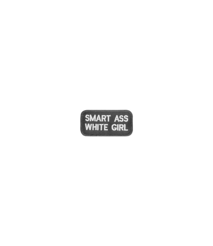 212 Smart Ass White Girl Patch
