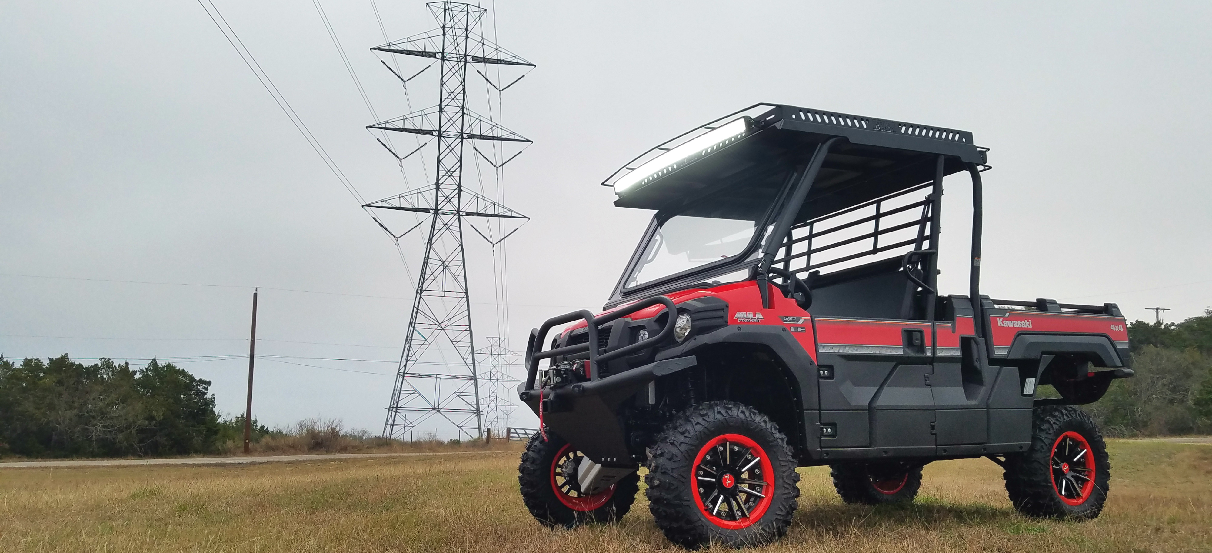 Kawasaki Mule Pro FX Metal Top Single Cab by Ranch Armor