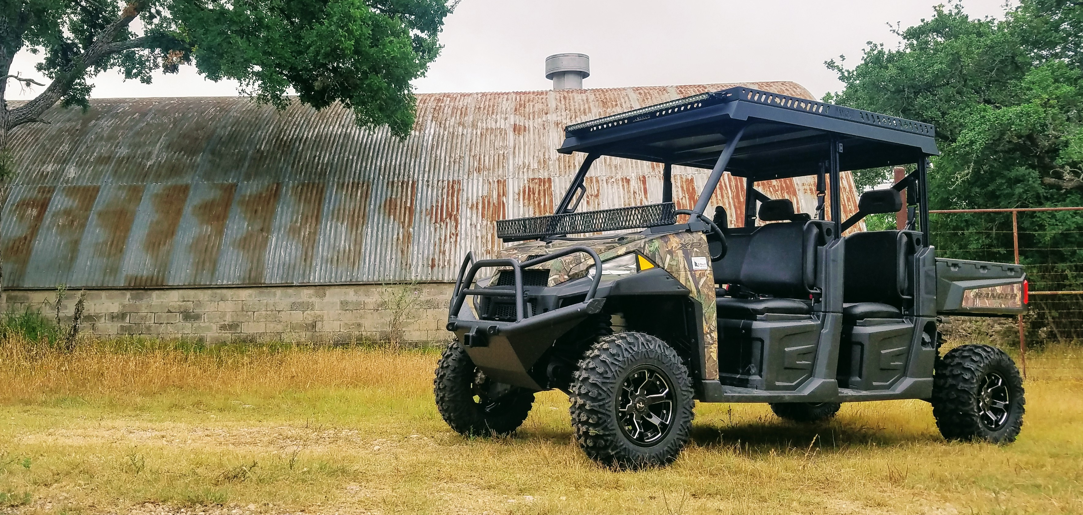 Polaris Ranger Metal Top Crew by Ranch Armor UTV