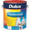 Dulux weathershield ext low sheen white 10l kvi