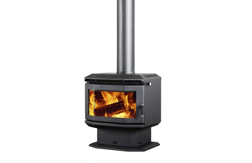 Saxon Rosewood Freestanding Wood Heater