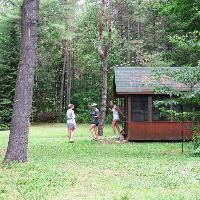 cabin at        gaia