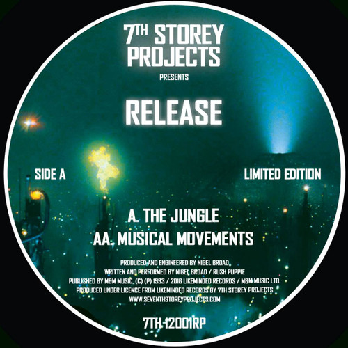 "RELEASE - The Jungle/Musical Movements - Limited Edition 12"" Clear Transparent Vinyl"
