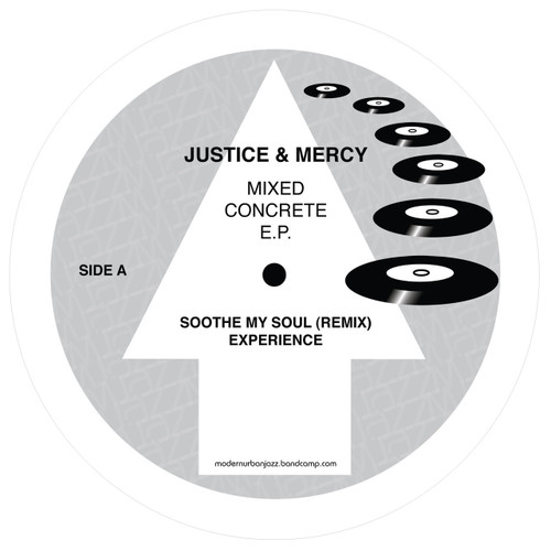 "Justice & Mercy - Mixed Concrete E.P.  - Limited 12"" Vinyl"