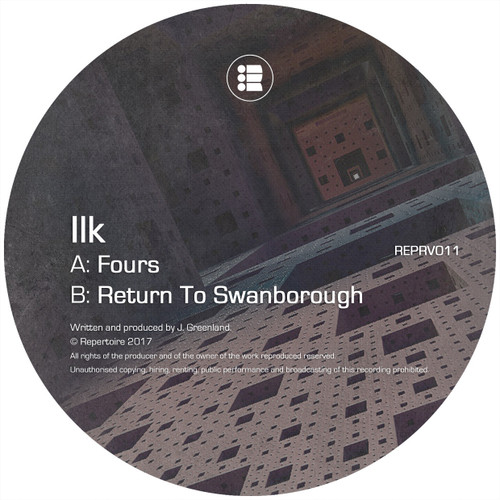 "Ilk - Fours // Return To Swanborough - Repertoire - Limited Edition 12"" Vinyl"