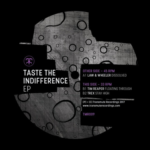"Law & Wheeler / Tim Reaper / Trex - Taste The Indifference EP - 12"" Vinyl"