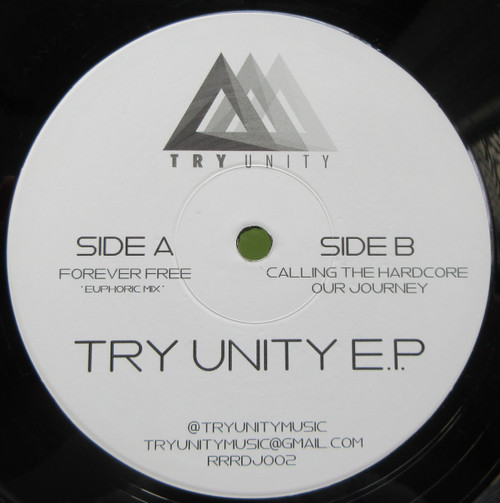 "Try Unity - Try Unity EP - Limited 12"" Vinyl"