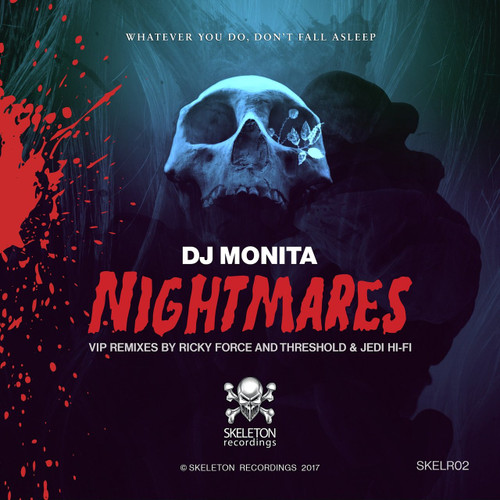 "DJ Monita - Nightmares VIP Mixes - 12"" Vinyl"