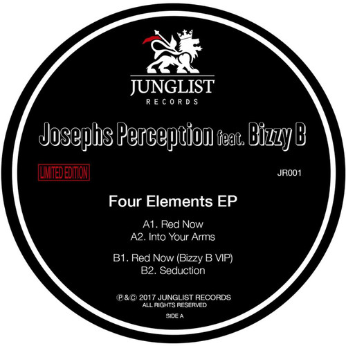 "Josephs Perception ft. Bizzy B - Four Elements EP - 12"" Vinyl"