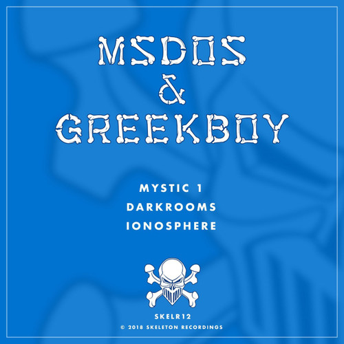 "mSdoS & Geekboy - Mystic 1/Darkrooms/Ionosphere - Skeleton Recordings 12"" Vinyl"