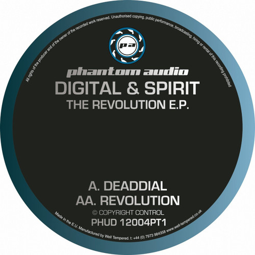 "Digital & Spirit - The Revolution EP Pt. 1 - 12"" Vinyl"