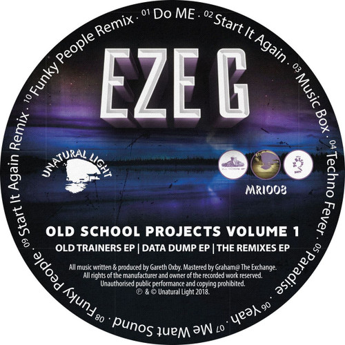 Eze G - Old School Projects Volume 1 - CD Version