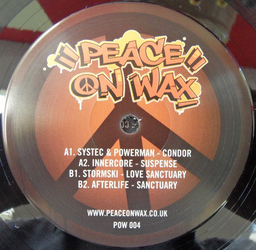 "Various Artists – Peace On Wax 004 - 12"" Vinyl"