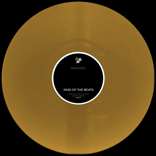 "Dillinja - You / King of the beats - Dubs from the Dungeons  - 12"" Gold Vinyl"