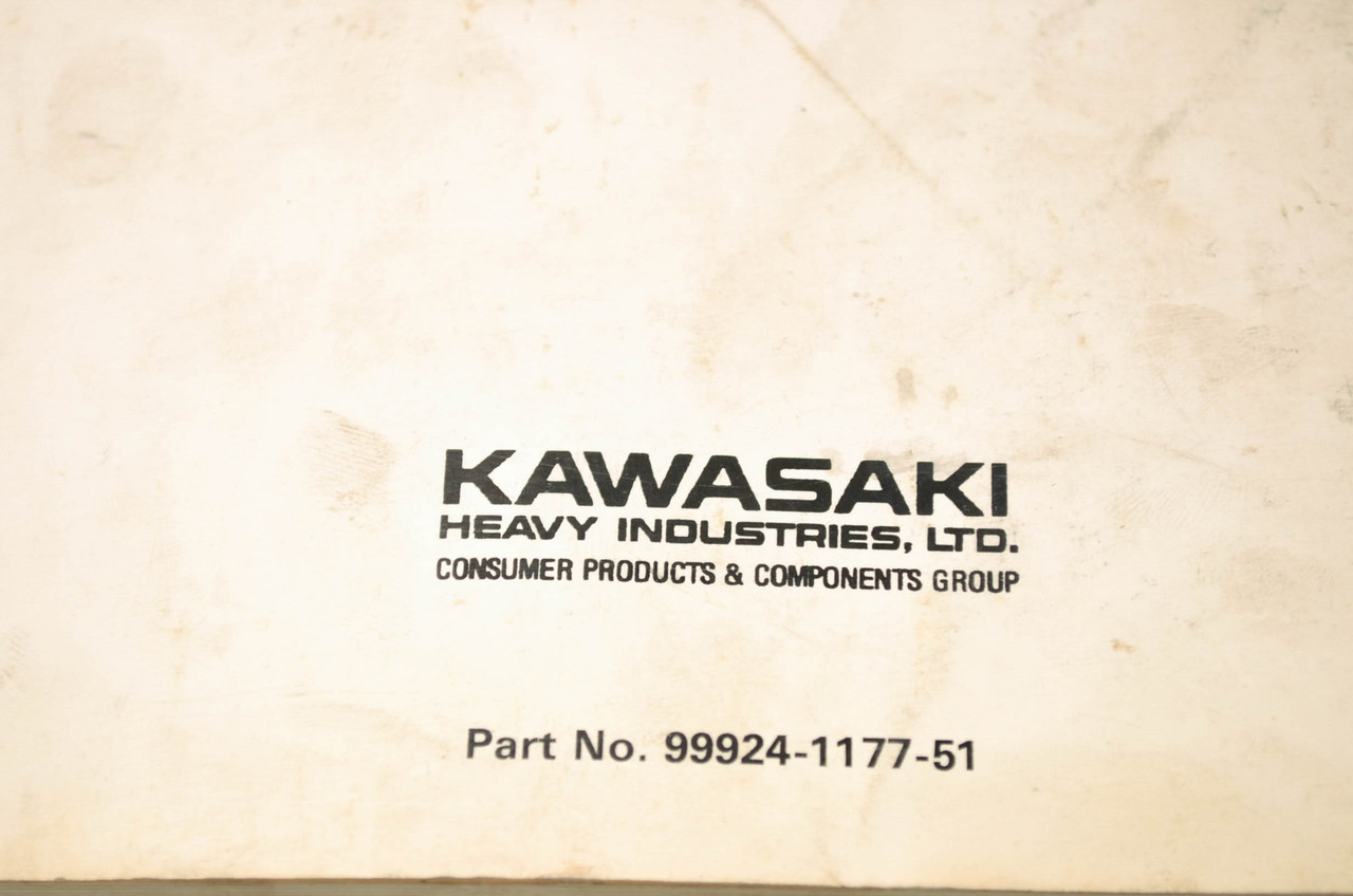 sts 750 kawasaki manual