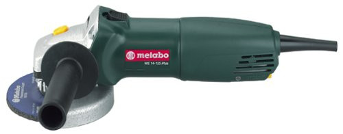 "Metabo WE14125 Inox Plus Quick 5"" Angle Grinder"