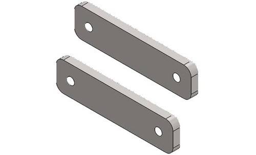 Accessory Track Mount Plates Pair