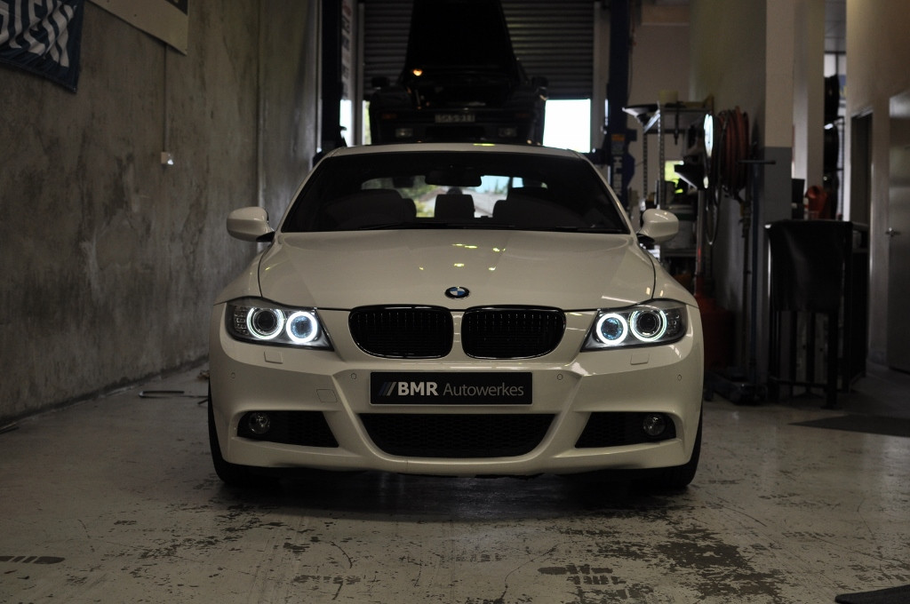 BMR H8 LED Angel Eyes