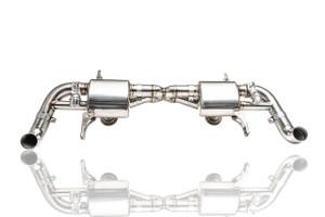 Audi R8 V10 IPE Titanium Exhaust